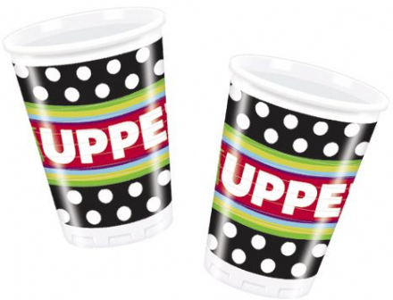 8 The Muppets Theme Plastic Party Cups